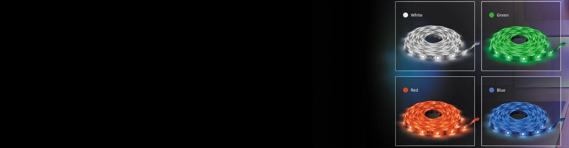 LED-valgusribad